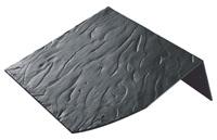 BNC profiili katuseharja element ehk Saksa kiltkivi imitatsiooniga kivikatuse katusehari