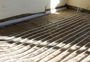 Põrandakütte paigaldamine